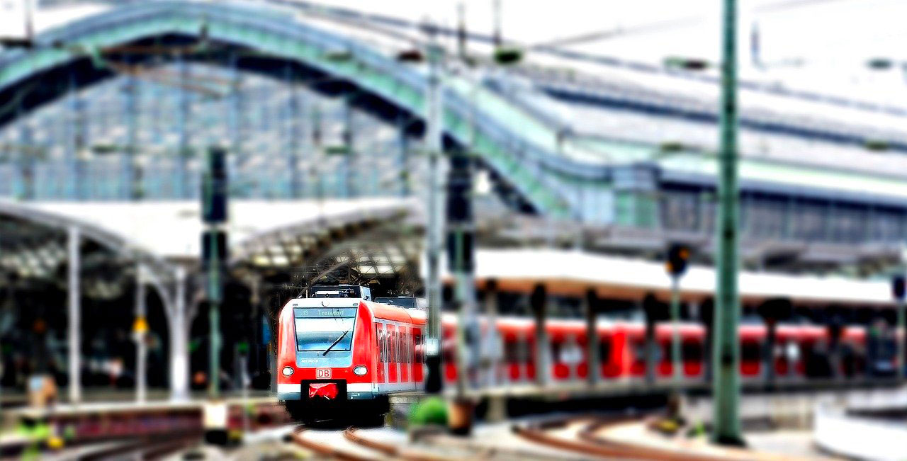 Diorama train